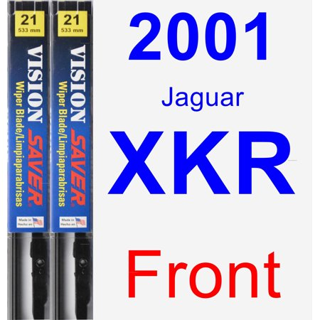 2001 Jaguar XKR Wiper Blade Set/Kit (Front) (2 Blades) - Vision Saver