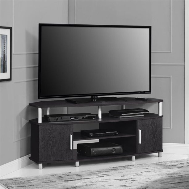 "Ameriwood Home Carson Corner TV Stand for TVs up to 50"" Wide, Espresso"