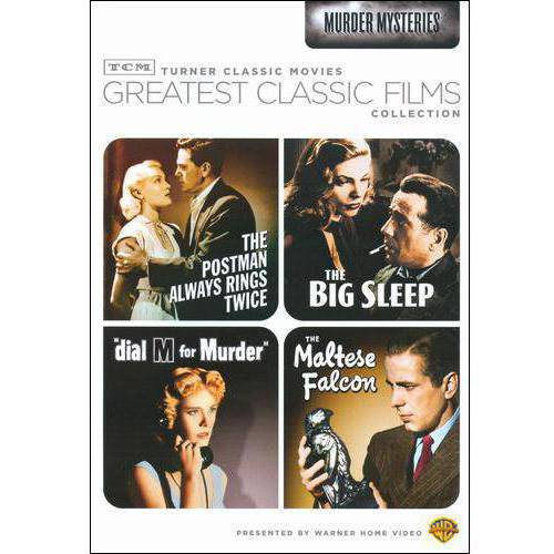 TCM Greatest Classic Films: Murder Mysteries - The Maltese Falcon / The Big Sleep / Dial M For Murder / The Postman Always Rings Twice