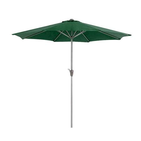 9ft Outdoor Adjustable Height Anti-UV Patio Umbrella 8 Rib Market Umbrella Fade Resistant Sunshade Beach Umbrella Garden Shade or Pool with Crank without Base - image 7 de 7