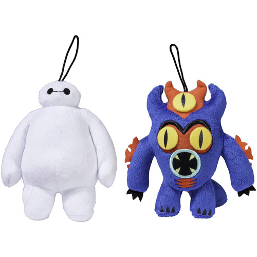 Big Hero 6 Small Plush, 2-Pack, Baymax and Fred