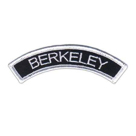 Berkeley Name Tag Arch Patch Novelty Badge Symbol Embroidered Iron On Applique (Gateway Arch Patch)