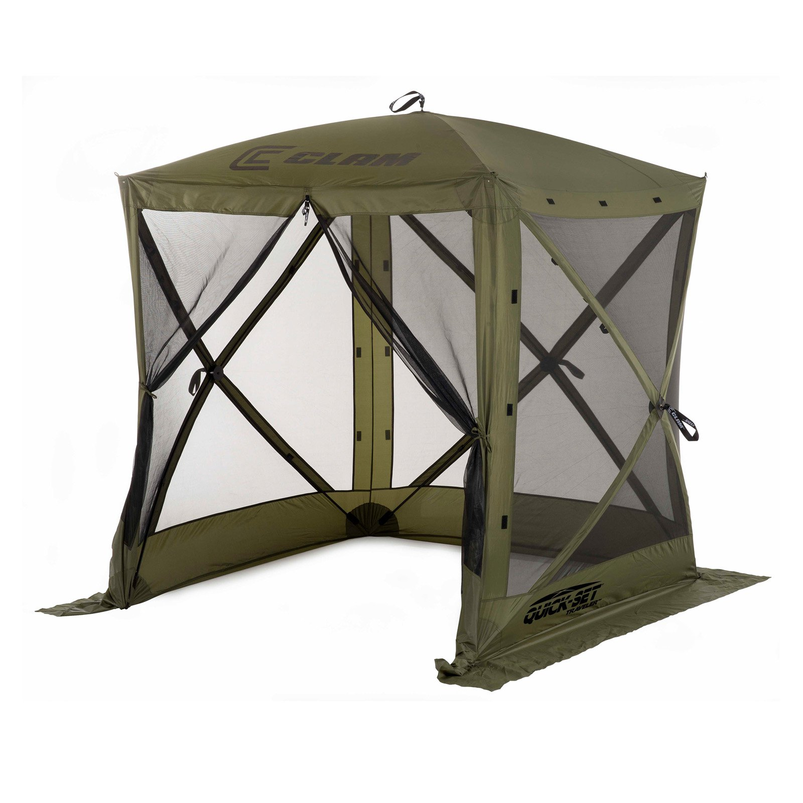 Clam 6 x 6 ft. Quick-Set Traveler Canopy Shelter  sc 1 st  Walmart & Clam 6 x 6 ft. Quick-Set Traveler Canopy Shelter - Walmart.com