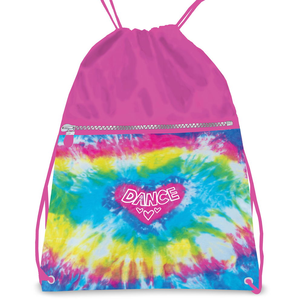 Dansbagz By Danshuz Women's Love Tie Dye Drawstring Backpack Tie Dye OS