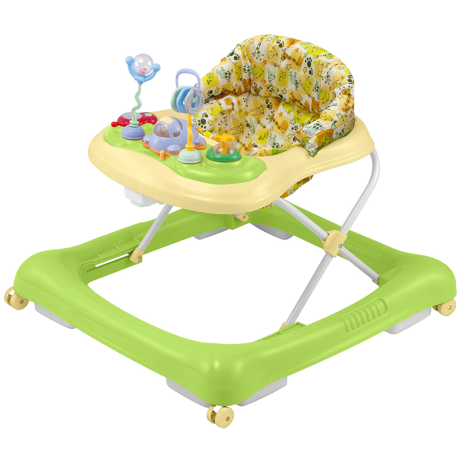 Big Oshi 2 in 1 Baby Walker & Activity Center on Wheels Musical Walker with Tray Table Baby Activity Center... by Big Oshi