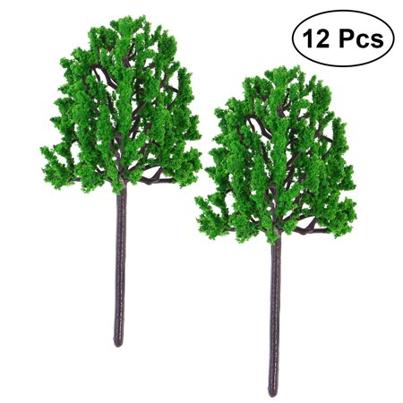 12pcs Artificial Pine Tree Fake Plants Decorative Lifelike Green Plant For Home Office Microlandschaft 14 5
