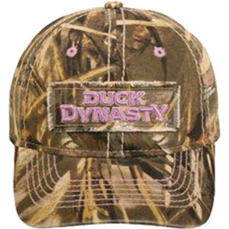Outdoor Cap Company Duck Dynasty Ladies Heavily Washed Low Profile Hat