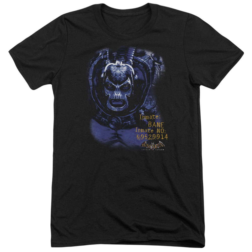 Batman Arkham Asylum Arkham Bane Mens Tri-Blend Short Sleeve Shirt