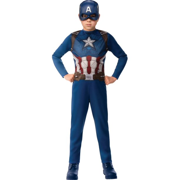Marvel Boys Avengers Endgame Captain America Halloween Superhero Costume Walmart Com Walmart Com Today i take a look at the new captain marvel movie 6 marvel legends walmart exclusive captain marvel binary form figure from hasbro. walmart com