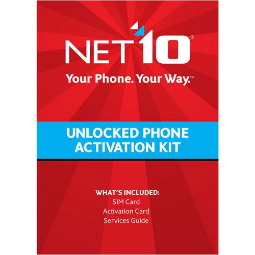 Net10 T-Mobile Compatible Standard SIM Card