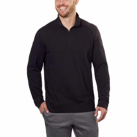 Calvin Klein Men's 1/4 Zip Lightweight Pullover, XLarge Black - NEW