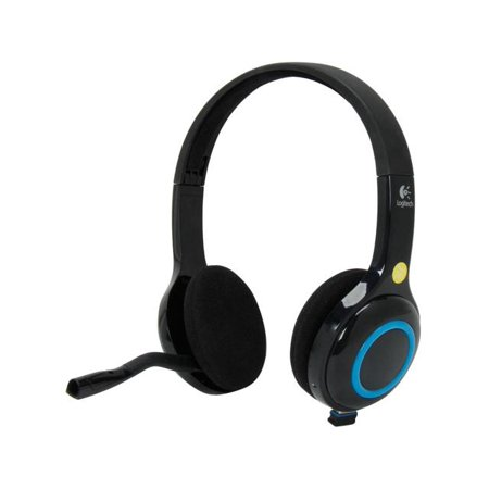 Logitech Wireless Computer Headset H600 Noise Cancellation 981-000341