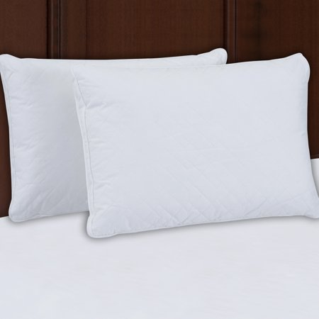 Beautyrest Luxury Quilted Down Alt Pillow Set of 2 in Multiple Sizes