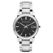 Burberry Men's BU9001 Large Check Stainless Steel Bracelet Watch