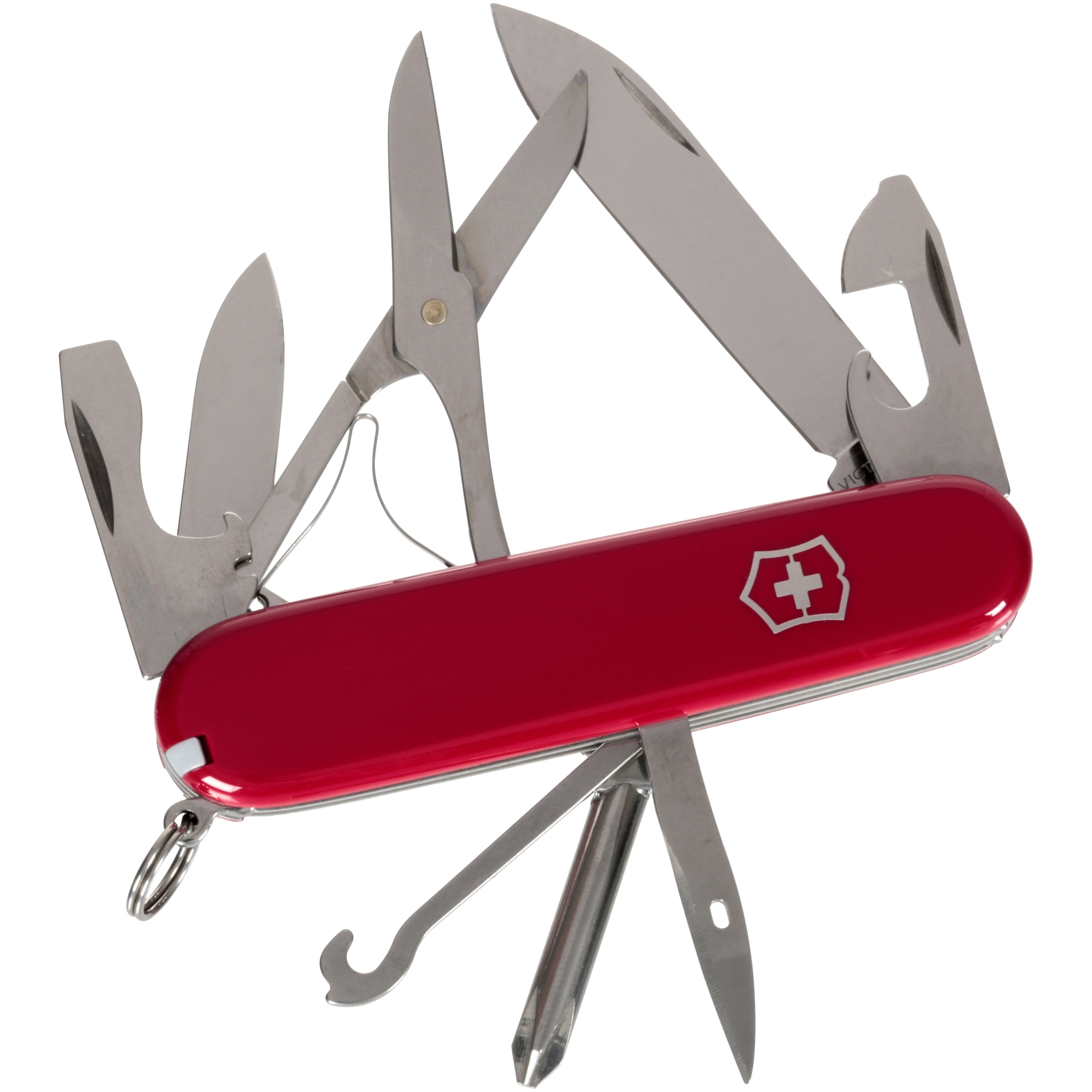 Victorinox Swiss Army Red Super Tinker Knife with Pouch