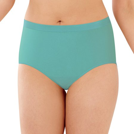 Bali Comfort Revolution Womens Microfiber Seamless Brief - Best-Seller,