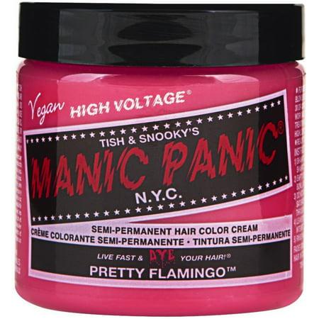 Manic Panic Semi-Permanent Hair Color Cream, Pretty Flamingo 4 - Halloween Hair Paint