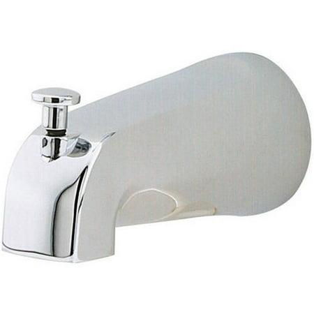 Pfister Diverter Tub Spout with Standard Diverter Knob, Polished Chrome