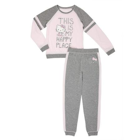 Hello Kitty Girls' Sporty Pajama Set (Little Girls & Big Girls) for $<!---->