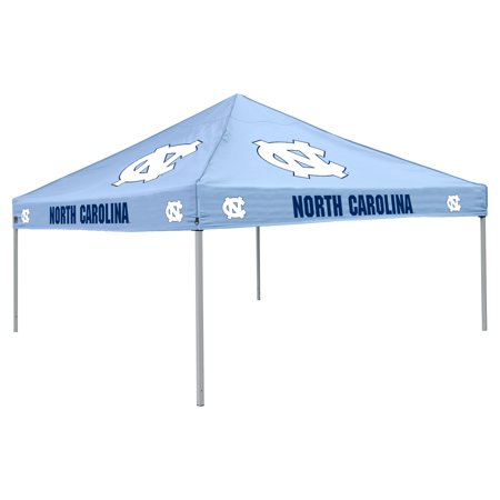 Logo Chair NCAA North Carolina 9' x 9' Solid Color Tent, Sleeps 4