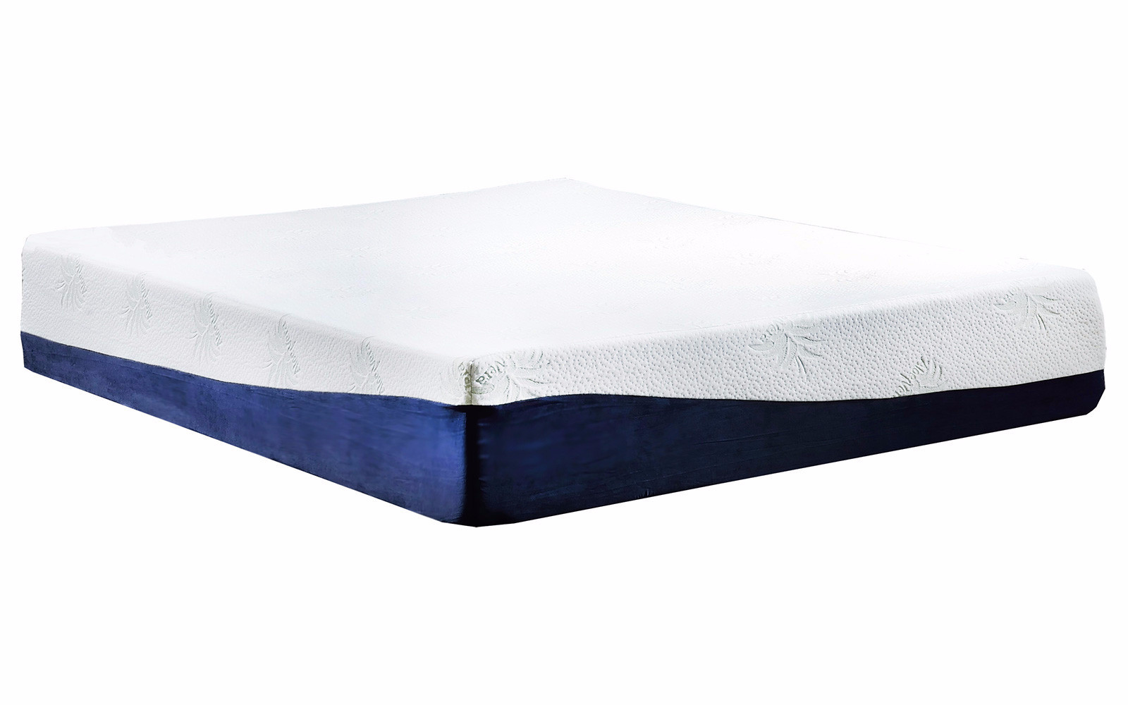 "13"" inch Memory Gel and Memory Foam King Size Mattress by"