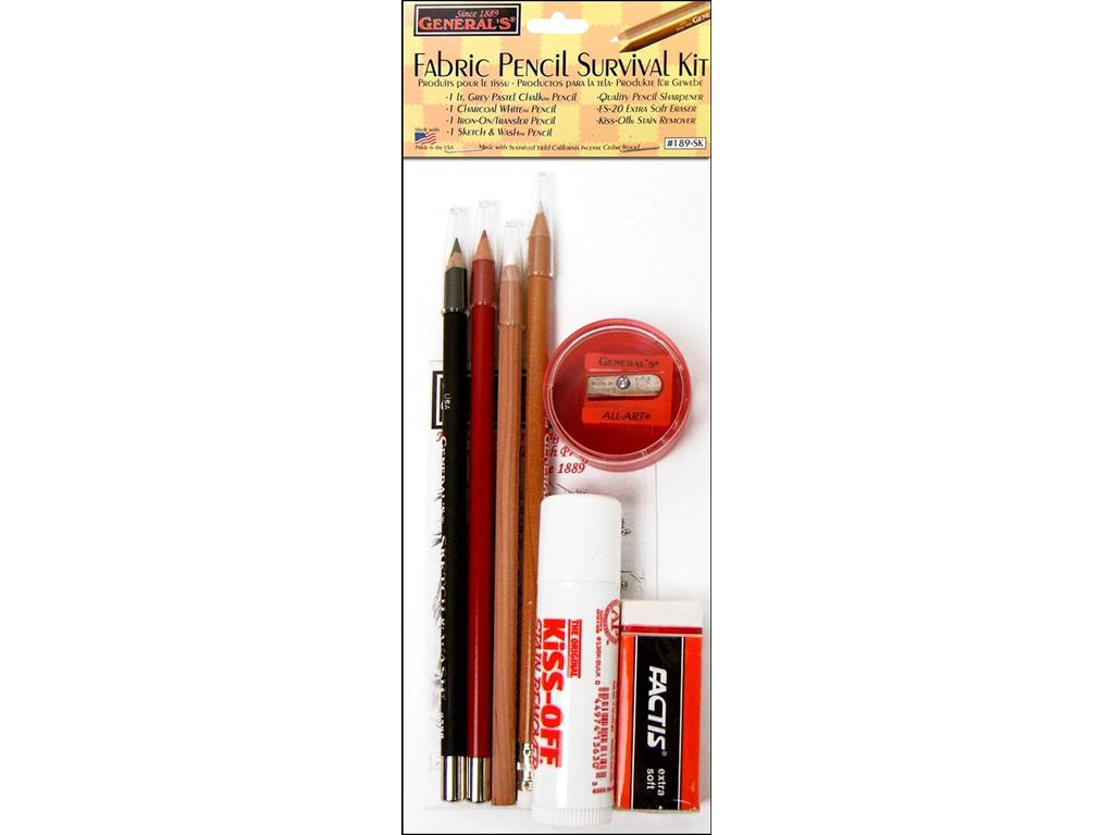 General's Fabric Pencil Survival Kit by General Pencil Company