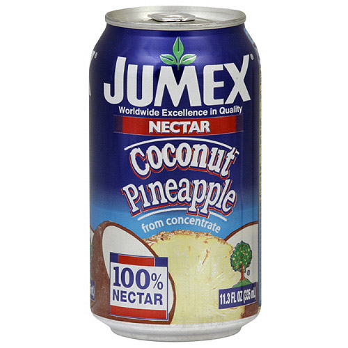 Jumex Coconut Pineapple Nectar, 11.3 oz (Pack of 24)