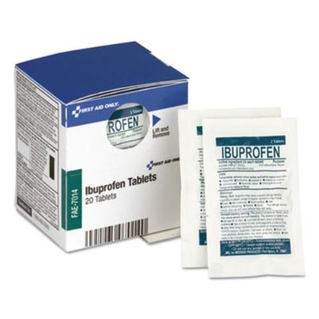 Over the Counter Pain Relief Medication for First Aid Cabinet, 20