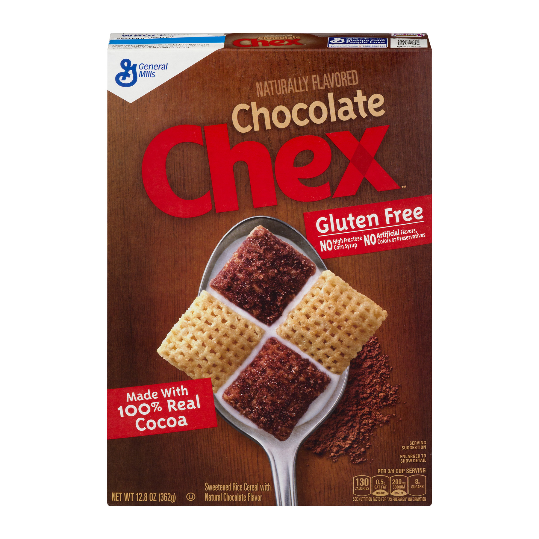 Chocolate Chex Gluten Free Cereal 12.8 oz Box