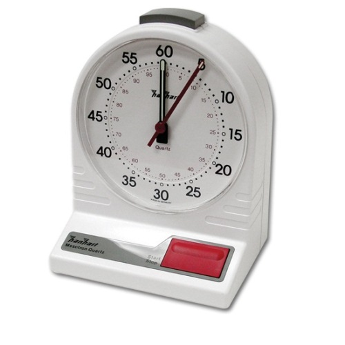 Multipurpose Analog Game Clock, Deluxe 4.75'' Face