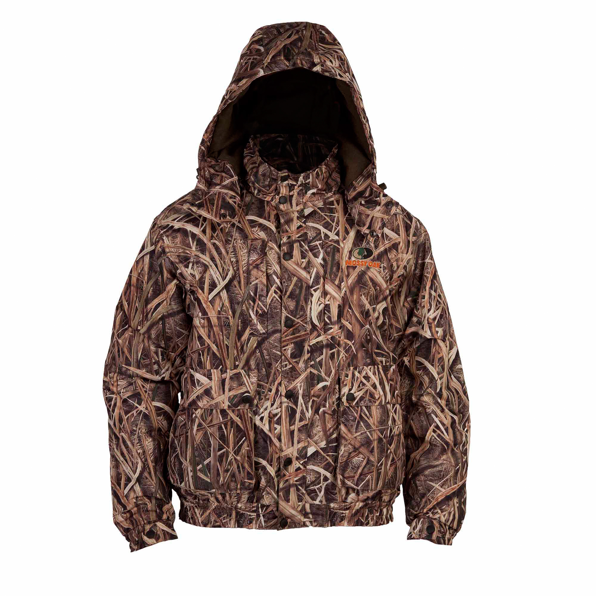 Mossy Oak Shadowgrass Blades Men's Waterfowl Insulated Jacket by LUCKY ZONE DESIGN