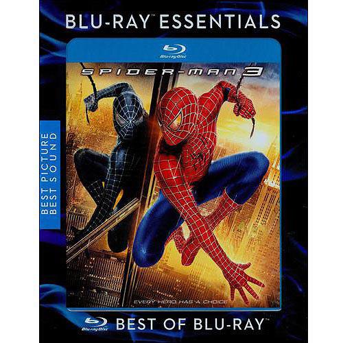 Spider-Man 3 (Blu-ray) (Essentials Repackage) (Widescreen)