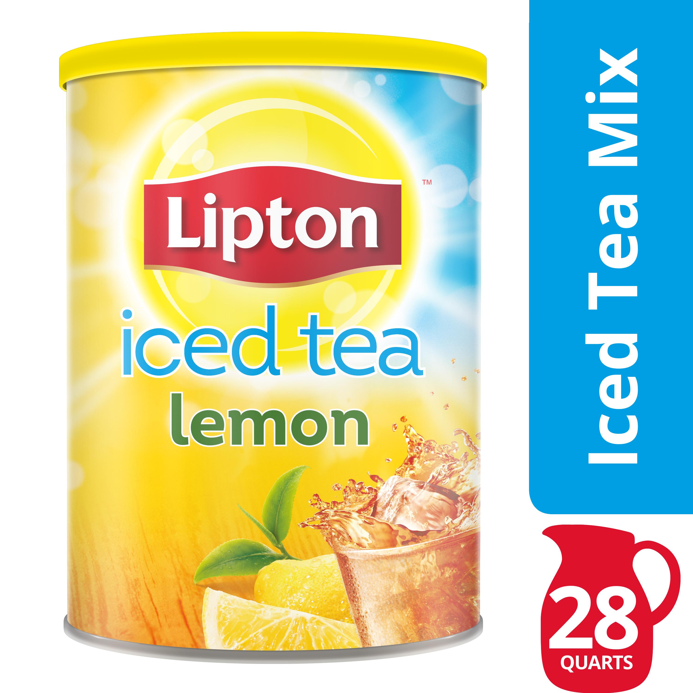 Lipton Lemon Iced Tea Mix, 28 qt