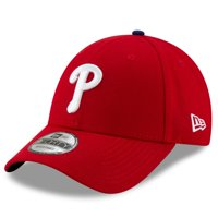 Philadelphia Phillies New Era Game The League 9FORTY Adjustable Hat - Red - OSFA