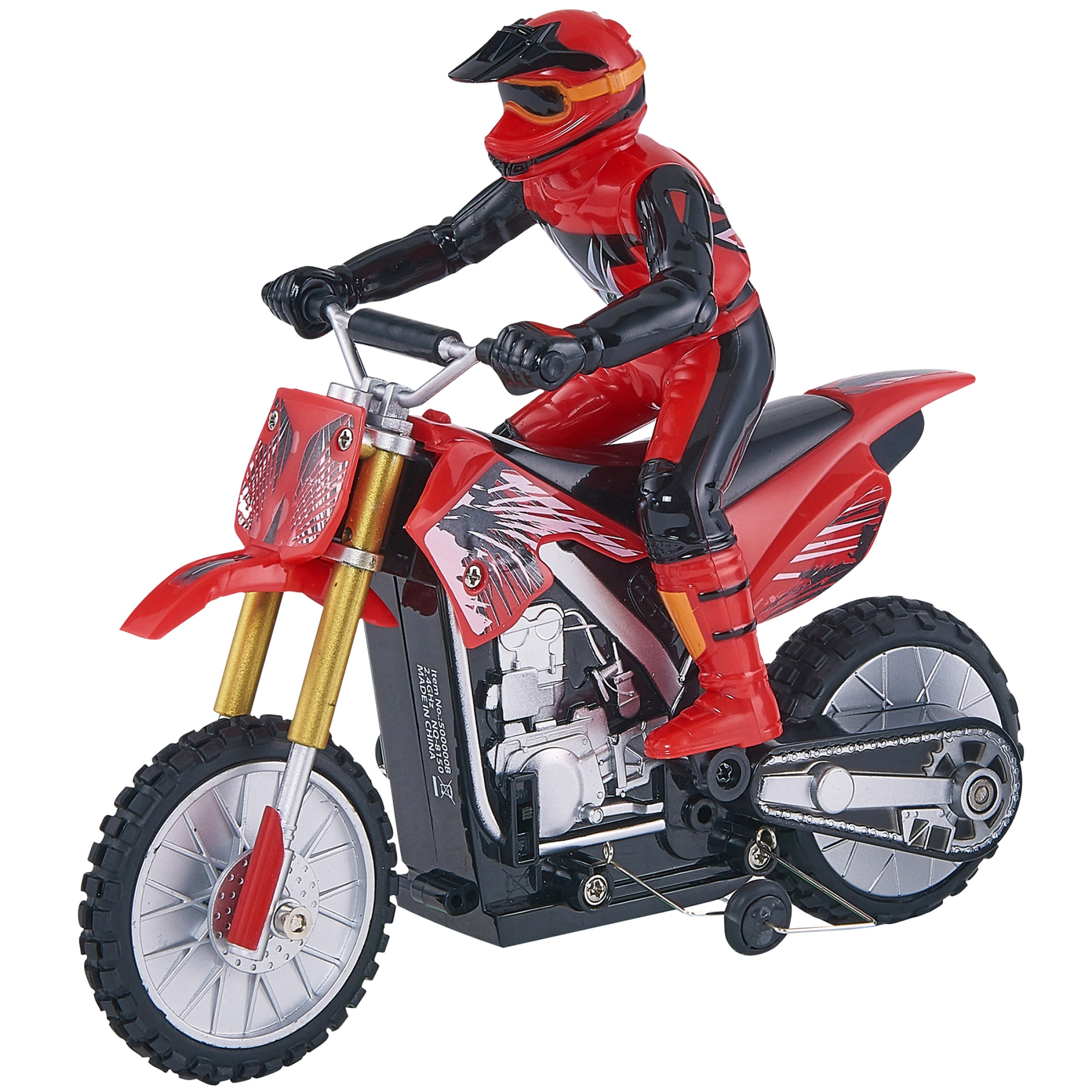 Adventure Force Motocross Bike Radio Controlled Vehicle, Red