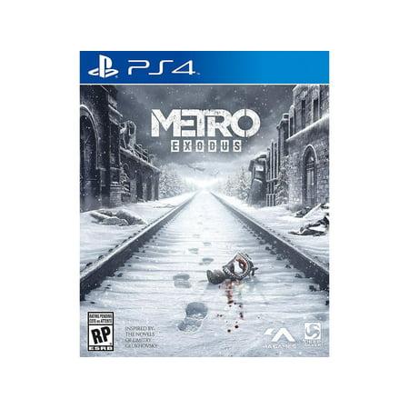 Metro Exodus  Square Enix  Playstation 4  816819014516