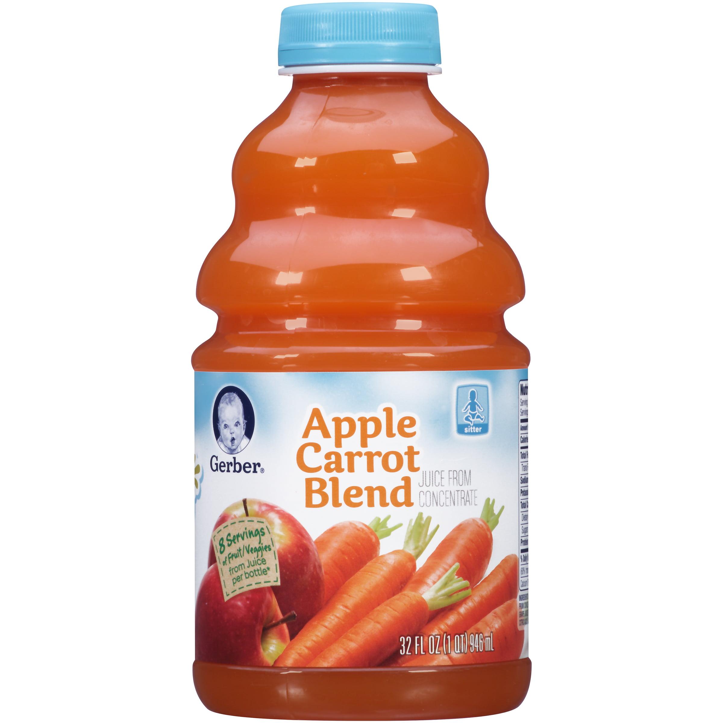 Gerber Apple Carrot Juice Blend, 32 fl oz by GERBER JUICE