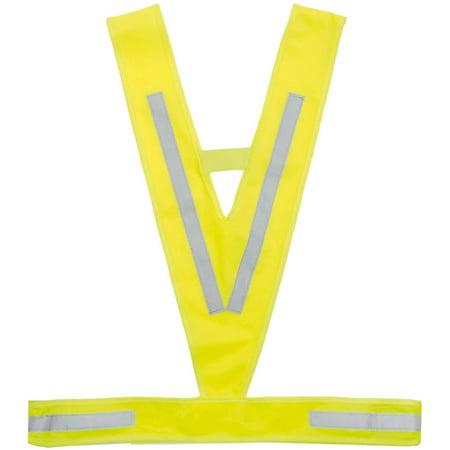V-Fit Reflective Safety Vest Mens Cycling Vest