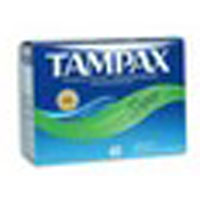 - Tampax Tampons With Flushable Applicator, Super Absorbancy - 40 Each