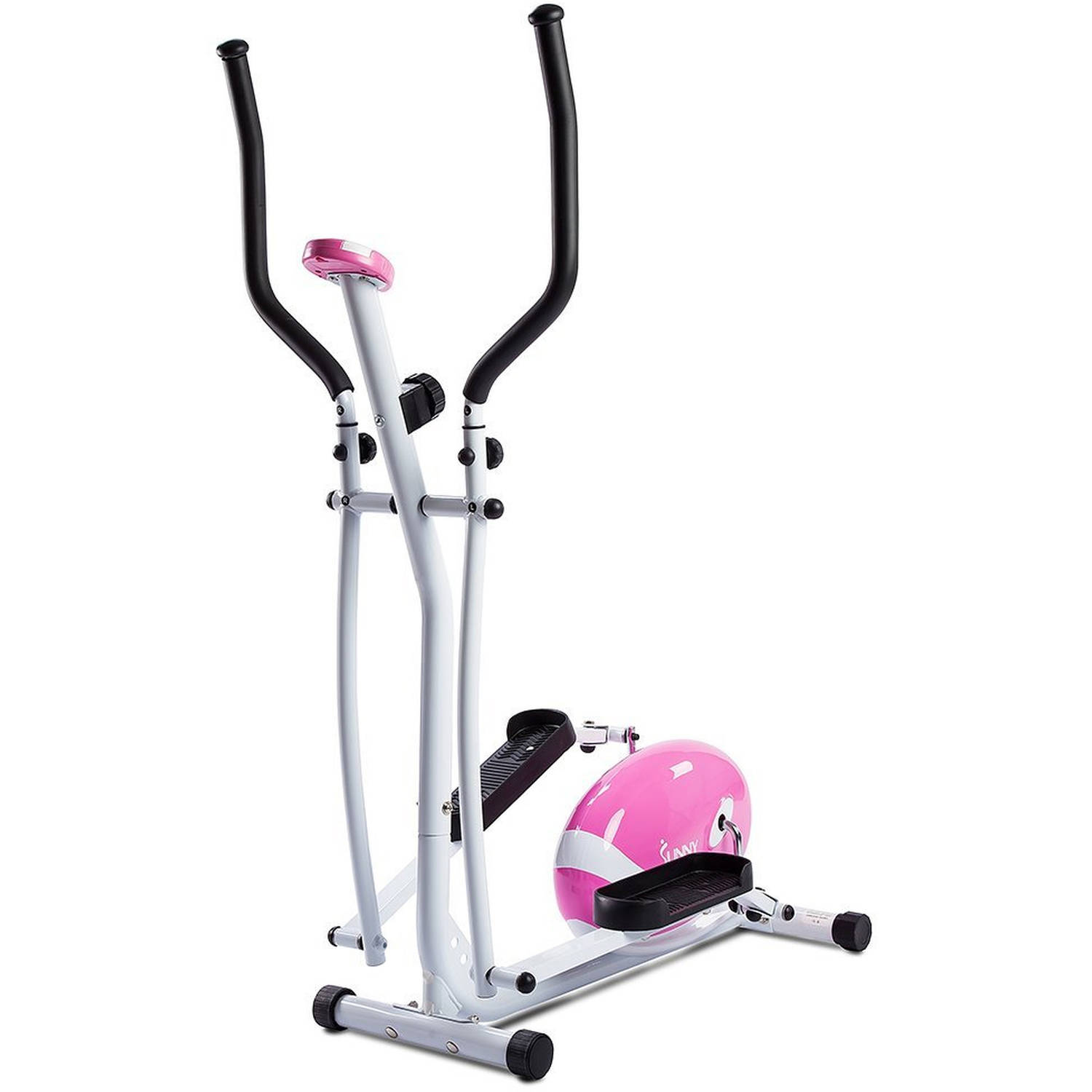 Sunny Health & Fitness Pink Magnetic Elliptical
