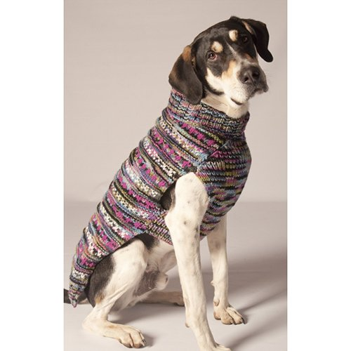 Chilly Dog Woodstock Dog Sweater - Purple