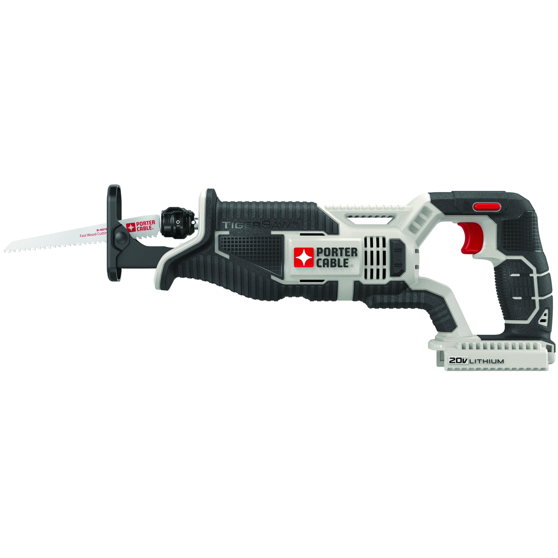 Porter Cable Max Tigersaw 20V Cordless Reciprocating Saw PCC670B (Bare Tool)