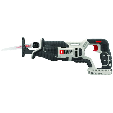 Corded Cordless Reciprocating Saw - PORTER CABLE PCC670B 20V MAX Lithium-Ion Cordless Reciprocating Saw (Bare Tool / Battery Sold Seperately)