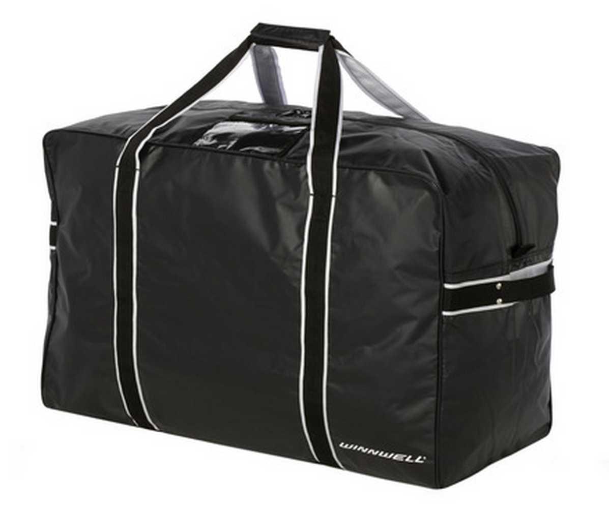 Winnwell Hockey Player Carry Bag Pro-Stock Team, Senior Black. HBO802SR-BK by Winnwell
