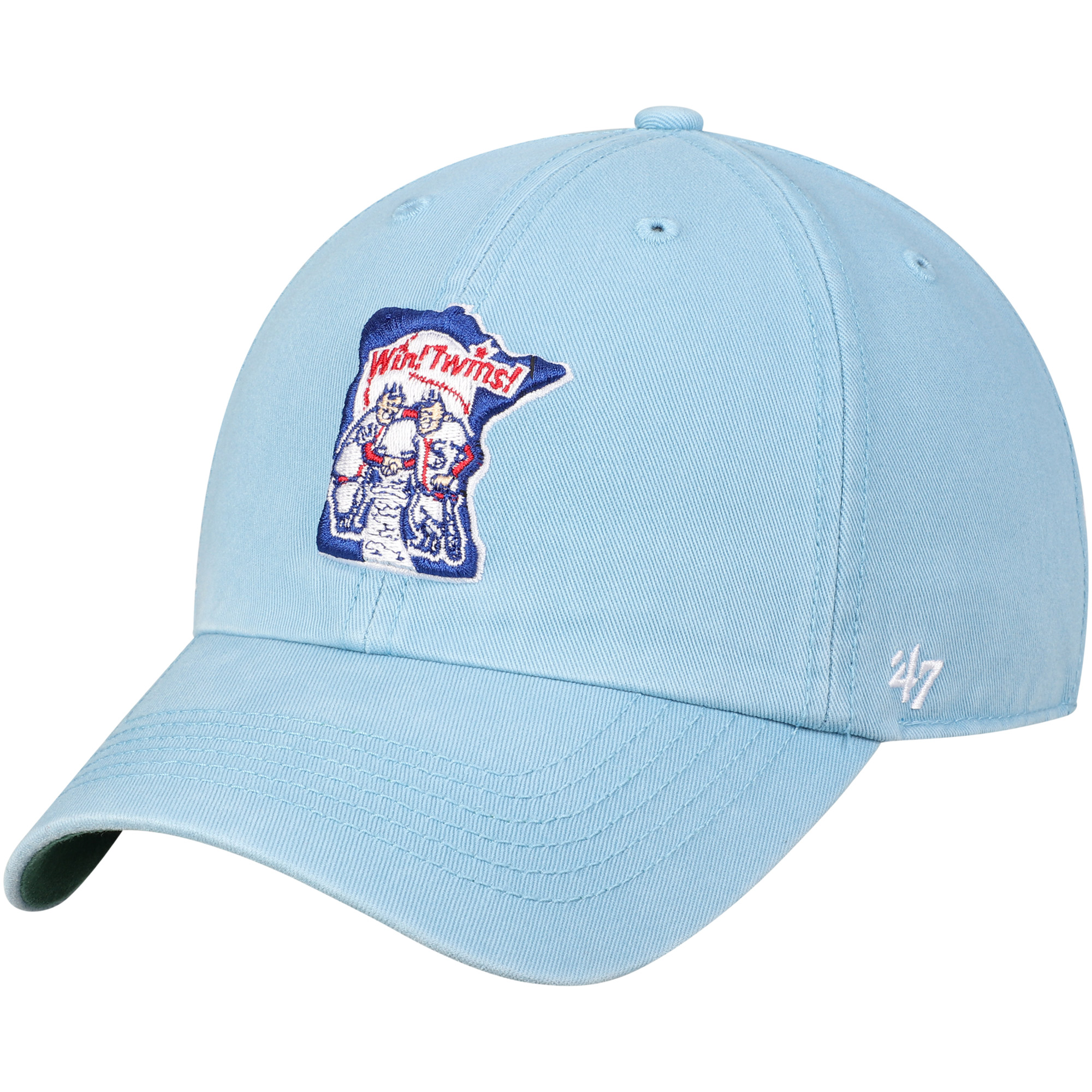 new style 8e075 0791e ... usa minnesota twins 47 1976 franchise cooperstown fitted hat light blue  walmart d0146 68ef8 ...