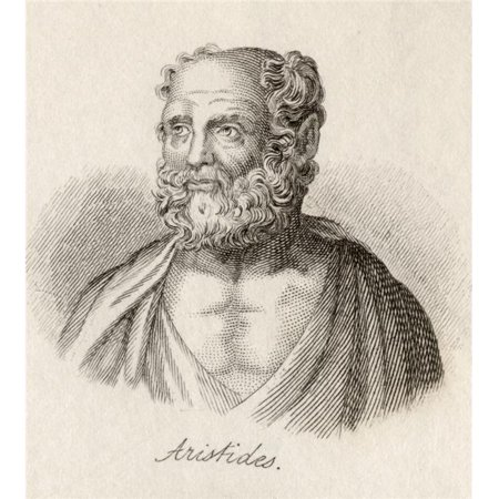 Posterazzi DPI1856788 Aristides C.Ad 140. Athenian Christian Philosopher. Engraved by J.W.Cook Poster Print, 13 x 15 - image 1 of 1