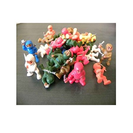 100 pcs *ninja fighters ninjas figures wholesale bulk vending toys party favors - Ninja Turtle Favors