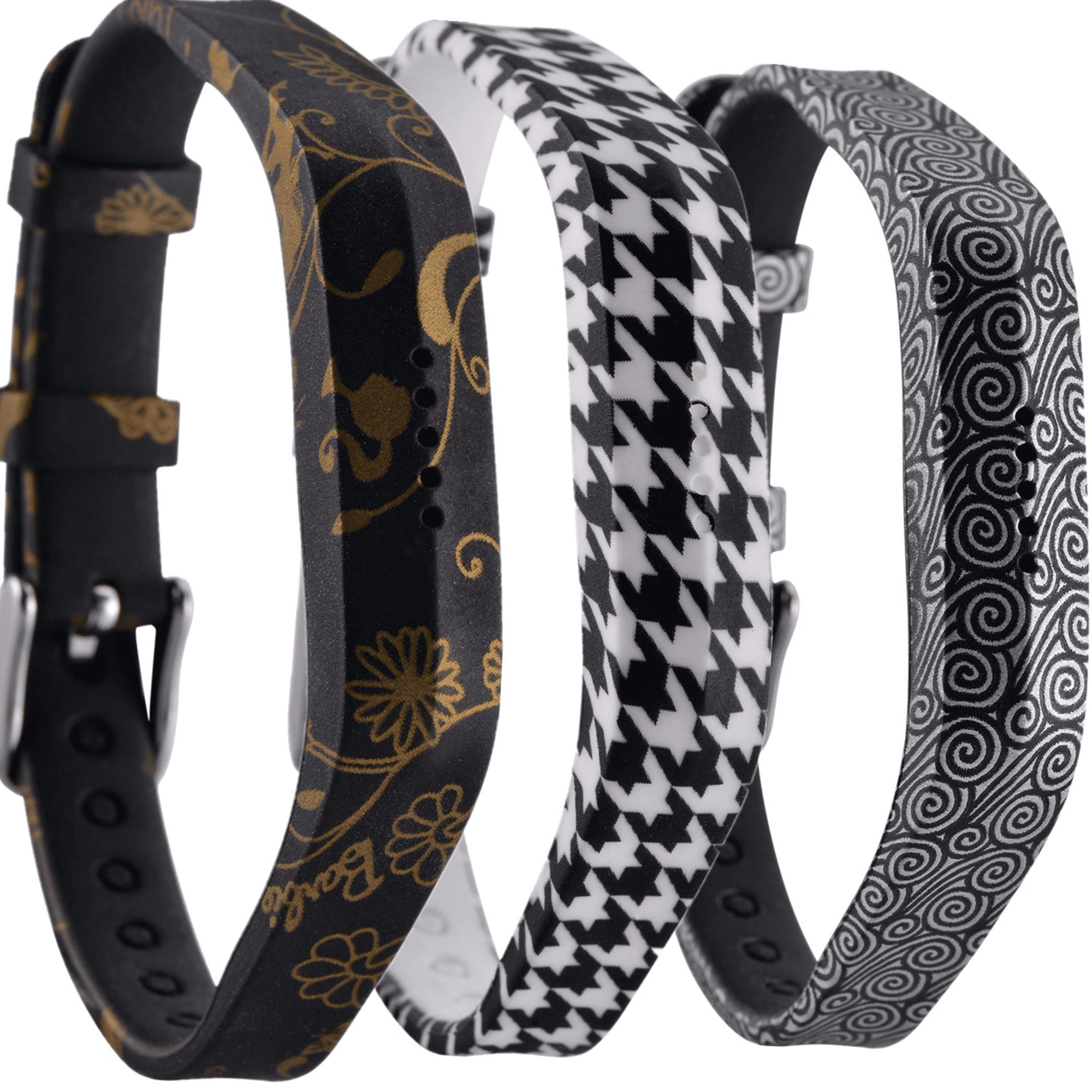 Moretek Flex 2 Accessory Bands for Fitbit Flex 2 / Fitbit flex2, With Chrome Claspor Soft Silicone Fitness Bracelet Strap, Adjustable Repalcement Wrist Band for Fitbit Flex 2 Fitness Smart Watch