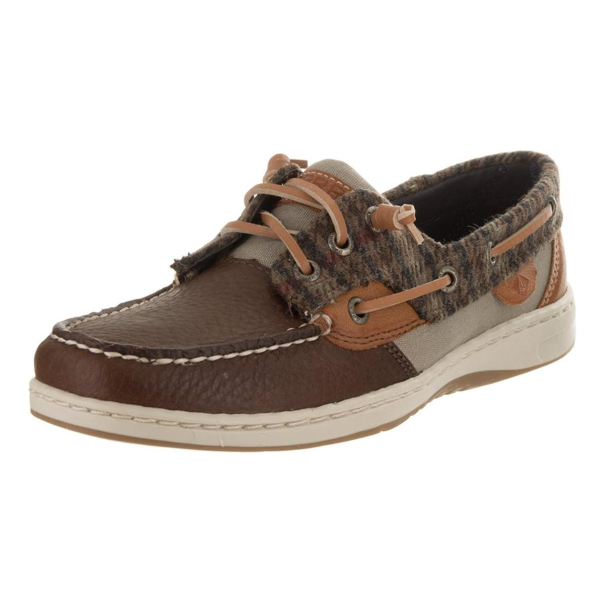 Sperry Top-Sider Rosefish Womens Walnut Boat Shoes