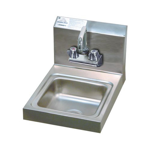 Advance Tabco Economy 12'' x 16'' Wall Mounted Handwash Station with Faucet